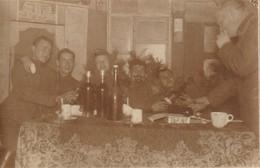 Photo 1916 Côte De LAGNY (près Lassigny) - Soldats Allemands Décompressant (A218, Ww1, Wk 1) - Guerre 1914-18