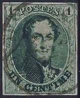 Mooi Gerande Zegel N°9  Zonder Gebreken - 1858-1862 Medaillen (9/12)