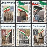 Vatican 2011  N° 1689-91 NMH Timbres Des Anciens Etats Sur Timbres (F10) - Vatican