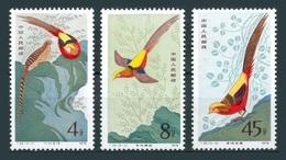 Chine China Cina 1979 Yvert 2213/2215 ** Faisans Dorés - Golden Pheasants  Ref T35 - Neufs