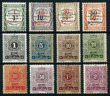 Marruecos (Francés) Tasa-23/6-27/34*/(*) Cat.19,50€ - Marokko (1891-1956)