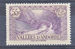 Andorre  66 Dentelure Courte  Paysages Neuf **  MNH Sin Charnela - French Andorra