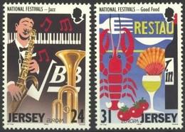 Jersey CEPT 1998 Yvertn° 816-817 *** MNH Cote 3 Euro Festivals - Jersey
