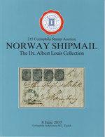 AC Corinphila 215 Auction June 2017: Norway Louis Shipmail Collection, Full Color - Briefe U. Dokumente