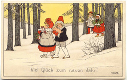 Pauli EBNER - Viel Glück Zum Neuen Jahr ! - Ebner, Pauli