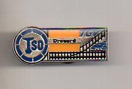 REF PC2 : Pin's Pin  : Theme Train Chemin De Fer  : TGV TSO DROUARD Variante 2 - TGV