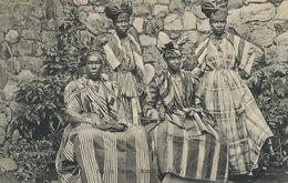 Native Dress Dominica B.W.I.  4 Women  Edit Bridgewater Roseau - Dominique