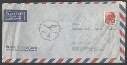 Aérophilatélie - DDR - Lettre 1960 - Dresden Luftpost - Messesonderflugverkehr Flughave Leipzig - [6] Oost-Duitsland