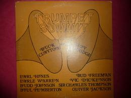 LP33 N°1304 - BUCK CLAYTON MEETS ROY ELDRIDGE - TRUMPET SUMMIT - COMPILATION 8 TITRES - Jazz