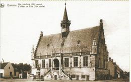 Damme. L'Hötel De Ville. (carte Postale Avec Photo Cp Ancienne) - Damme