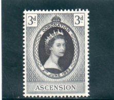 ASCENSION 1953 ** - Ascension (Ile De L')