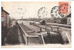Cpa...Aisne....écluses De Fargniers...1932....... - France
