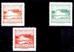 1944 Bolivia 7v. Nuevos - Bolivie