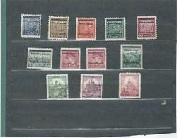 Allemagne BOHMEN UND MAHREN   1939  N° 1 *,2*, 3* ,4 *, 5*, 7*, 9*, 10 *, 26  0, 27 0, 28 0  Val: 3.10 € - Other