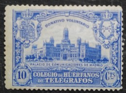 Colegio De Huerfanos De Telegrafos N°1 Neuf Sans Gomme - Wohlfahrtsmarken