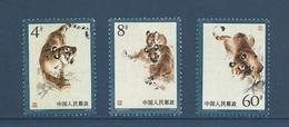 Chine China Cina 1979 Yvert 2228/2230 ** Tigres Manchous  Manchurian Tigers-  Ref T40 - Neufs