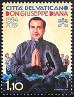 Vatikan Cittá Del Vaticano 2019 Nr. 1964 25. Todestag Von Giuseppe Diana Pfarrer - Vatikan