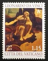 Vatikan Cittá Del Vaticano 2019 Nr.1968 500. Todestag Von Leonardo Da Vinci - Vatikan