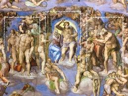 Vatikan Cittá Del Vaticano 2019 Block 62 Restaurierung Sixtinische KapelleFresko - Vatikan