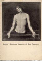 Perugia - Cartolina Antica LA PIETÀ, Perugino, Pinacoteca Vannucci - R22 - Religione & Esoterismo