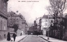 08 - Ardennes - SEDAN - La Rue De Mulhouse - Sedan