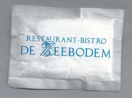 Suikerzakje.- URK. RESTAURANT BISTRO - DE ZEEBODEM -. Suiker Sucre Zucchero Zucker Sugar - Suiker