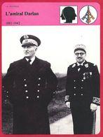 L'amiral Darlan. Seconde Guerre Mondiale. Vichy Collaboration. Assassiné En 1942. - Histoire