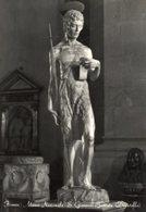 Firenze - Cartolina Antica SAN GIOVANNI BATTISTA, Donatello, Museo Nazionale - OTTIMA R22 - Religione & Esoterismo