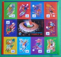 Bloc N° 19 France 98 - Blocs & Feuillets