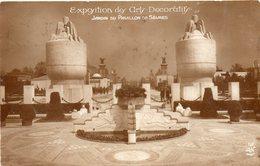 PARIS - Exposition Des Arts Décoratifs 1925 - Jardin Du Pavillon De Sèvres - Tentoonstellingen