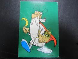 Carte Postale Bande Dessinée Astérix Panoramix - Stripverhalen