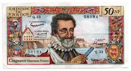 Henri IV  / 50 Nouveaux Francs / 3-9-1959 / TTB+ - 1959-1966 ''Nouveaux Francs''