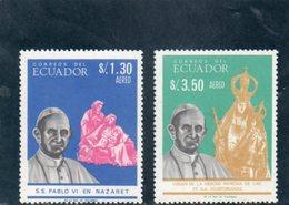 EQUATEUR 1967 ** - Ecuador