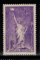 YV 309 N** Statue De La Liberte Cote 25 Euros - France
