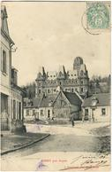 CARTE POSTALE ANCIENNE - COMMERCE  ET LE CHATEAU DE CHIRY PRES OURSCAMP - NOYON - JUIN 1906 - Other Municipalities