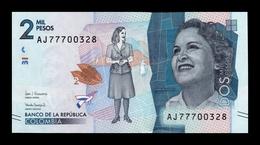 Colombia 2000 Pesos 2017 Pick 458c SC UNC - Colombie