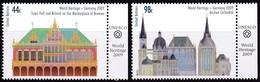 UNO-New York, 2009, 1141/42,  MNH **, UNESCO-Welterbe: Deutschland. - New York -  VN Hauptquartier
