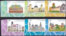 UNO-New York, 2009, 1143/48,  MNH **, UNESCO-Welterbe: Deutschland. - New York -  VN Hauptquartier