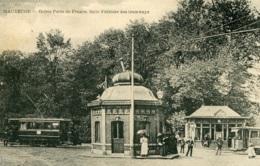 Tram/Strassenbahn Maubeuge,Octroi Porte De France,Feldpost 1915 Gelaufen - Tramways