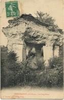 CARTE POSTALE ANCIENNE -  LES CINQ PILIERS DE DRESLINCOURT PRES DE RIBECOURT - NOYON OISE - AVRIL 1908 - Other Municipalities