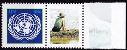 UNO-New York, 2009, 1161 A,  MNH **, Grußmarke: UNO-Klimagipfel, - New York -  VN Hauptquartier
