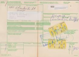 ESPAGNE 1994 - Bulletin D'Expédition Avec Vignettes D'affranchissement - Cachet OVIEDO - 1931-Aujourd'hui: II. République - ....Juan Carlos I