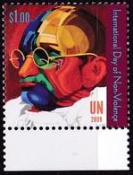 UNO-New York, 2009, 1170,  MNH **, Mahatma Gandhi - New York -  VN Hauptquartier