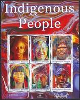 UNO-New York, 2009, 1171/76 Block 31,  MNH **, Indigene Menschen - New York -  VN Hauptquartier