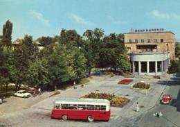 Omnibus Ikarus,VW Käfer,Peugeot 204,Slavonski Brod, Gelaufen - Buses & Coaches