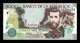 Colombia 5000 Pesos 2013 Pick 452o SC UNC - Colombie