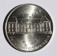 """Pièce De 2 Euros Temporaire De Rennes Ille-et-Vilaine """"Parlement De Bretagne"""" Novembre 1997 - 2euro - Deux Euro - Ecu - Euros Of The Cities"""