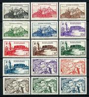 Fezzan (Francés) Nº 28/42 Nuevo* - Unused Stamps