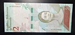A1 BILLETS DU MONDE WORLD BANKNOTES VENEZUELA 2 BOLIVARES - Bankbiljetten