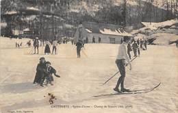 Cauterets          65        Sports D'hiver. Champ De Skieurs     ( Molle Voir Scan) - Cauterets